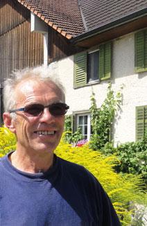 Beat Horber, éleveur laitier à Hugelshofen