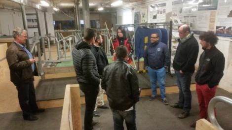 L'équipe du département Elevage d'Agriest s'est rendue dans l'étable pédagogique de l'université agronomique de Nürtingen pour une session de formation.
